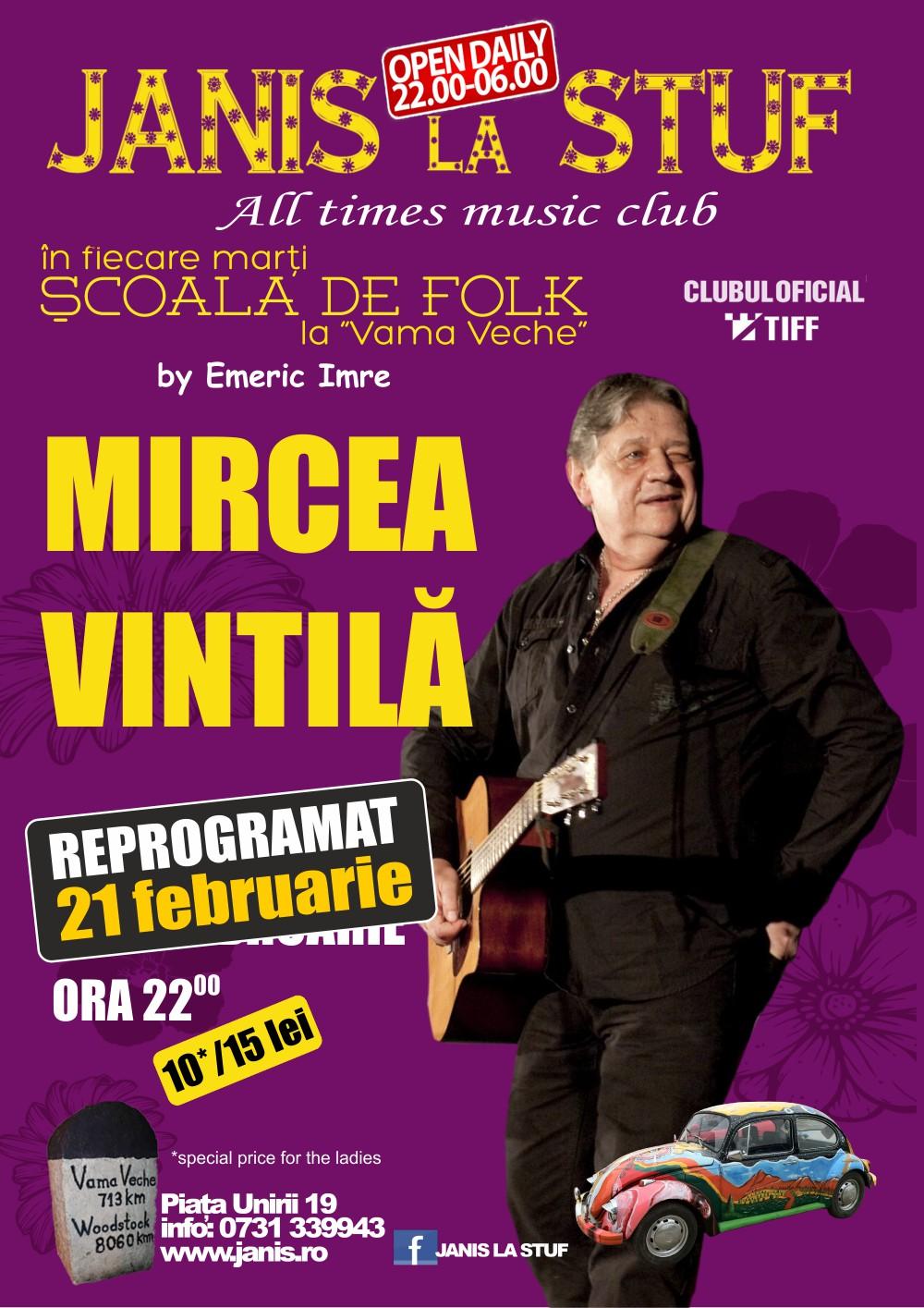 Mircea Vintila @ Janis la Stuf