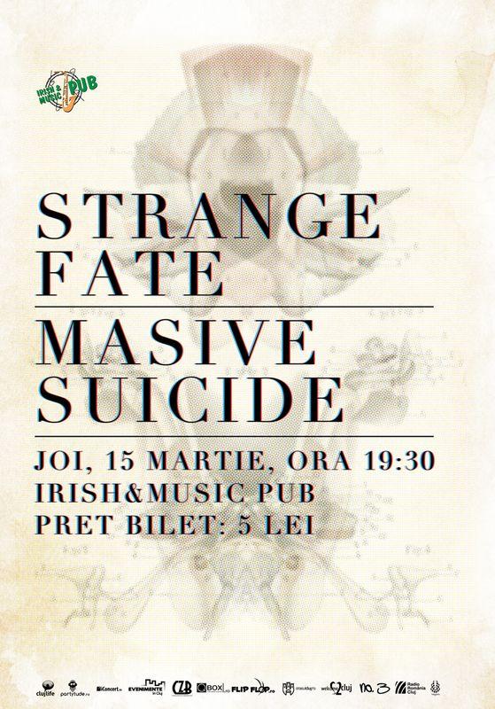 Strange Fate & Masive Suicide @ Irish & Music Pub