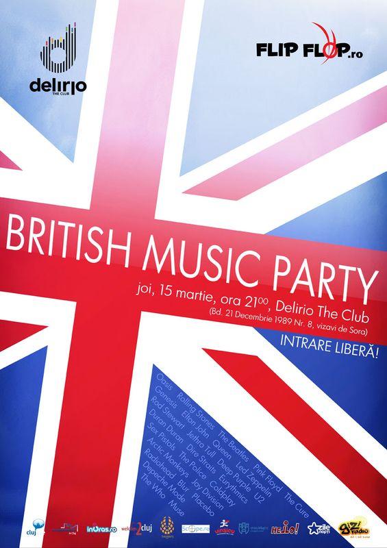 British Music Party @ Delirio Club