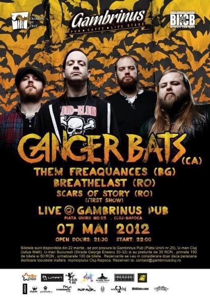 Cancer Bats @ Gambrinus Pub