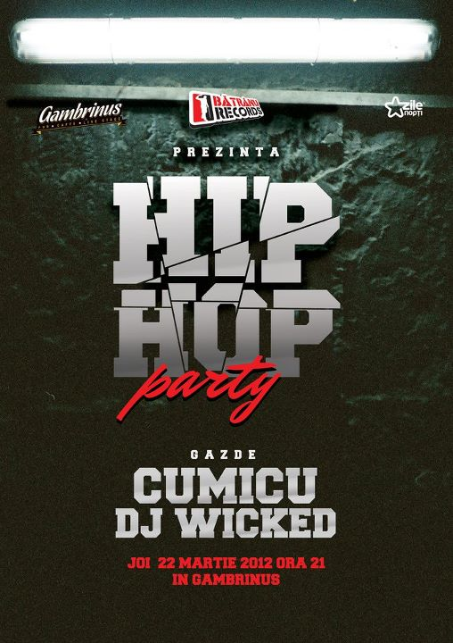 Hip Hop Party @ Gambrinus Pub
