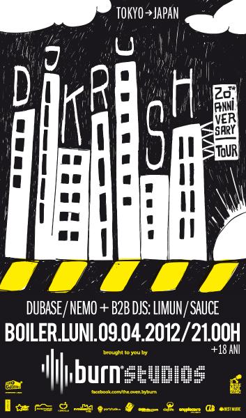 DJ Krush @ Boiler Club
