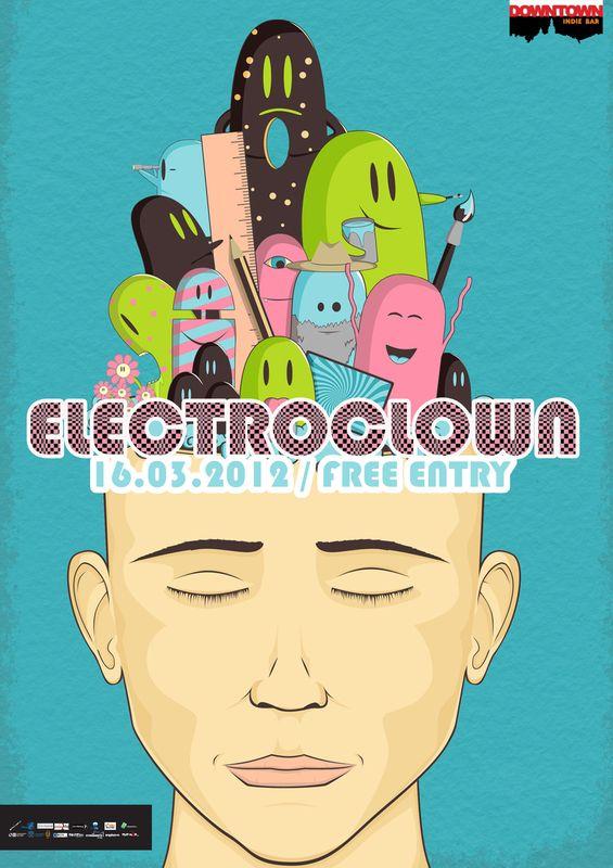 Electroclown @ Downtown
