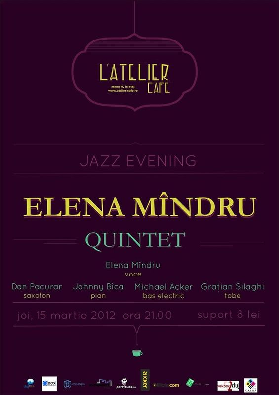 Elena Mindru Quintet @ L'Atelier Cafe