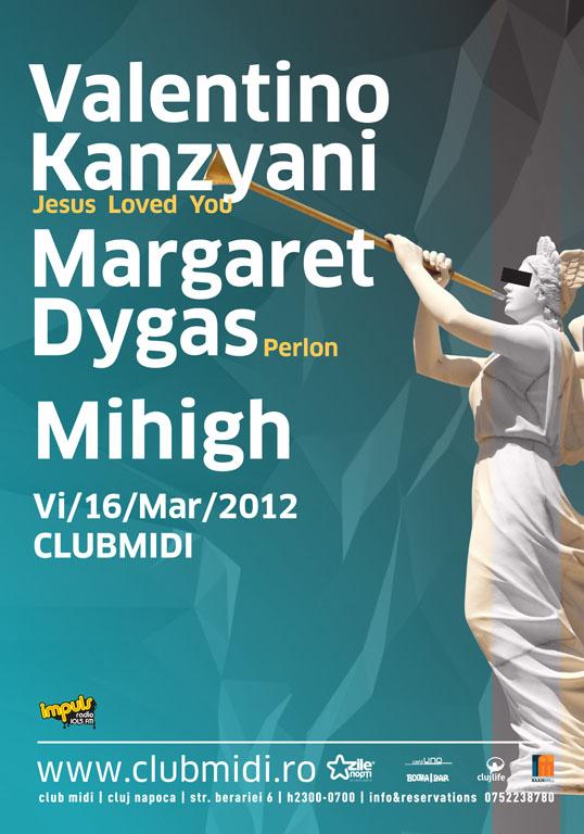 Valentino Kanzyani / Margaret Dygas @ Club Midi