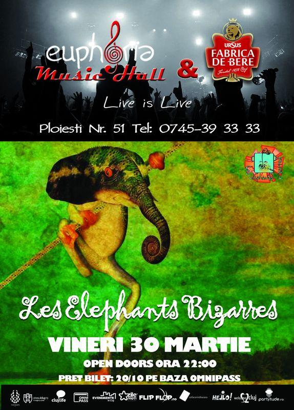 Les Elephants Bizzares @ Euphoria Music Hall
