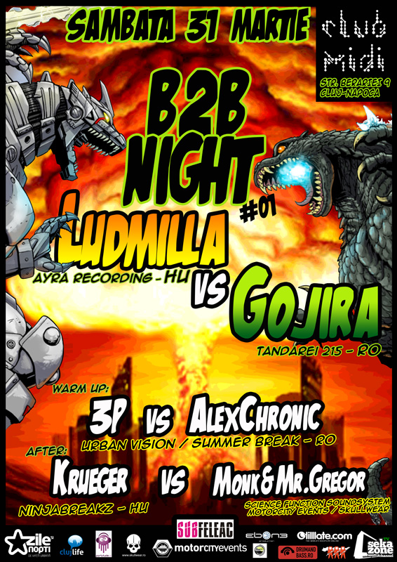 Ludmilla vs Gojira @ Club Midi