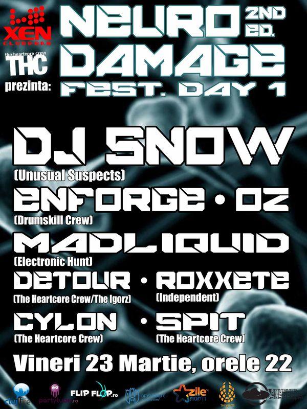 Neuro Damage Fest @ Club Xen