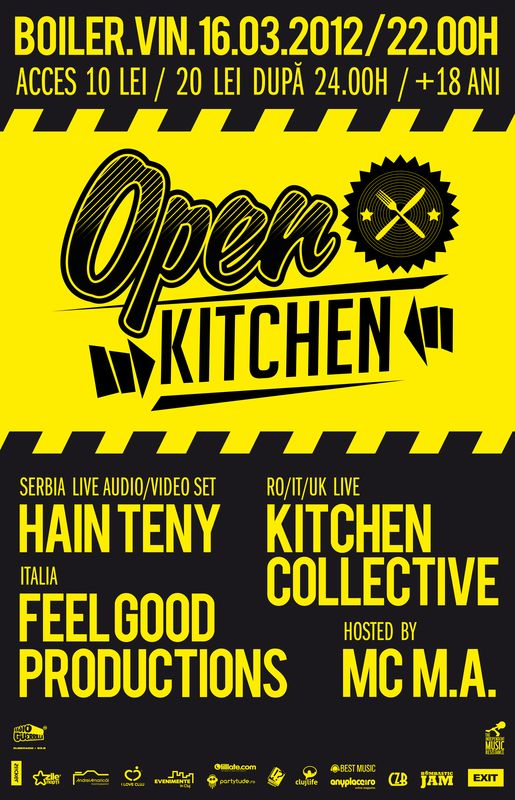 Open Kitchen @ Club Boiler
