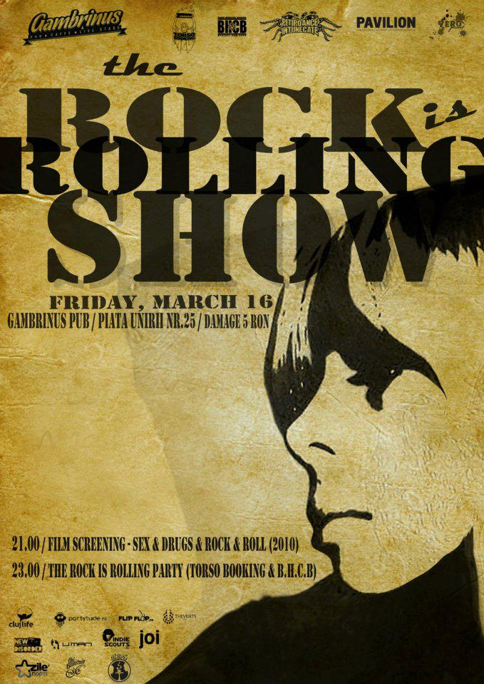The Rock is Rolling Show @ Gambrins Pub