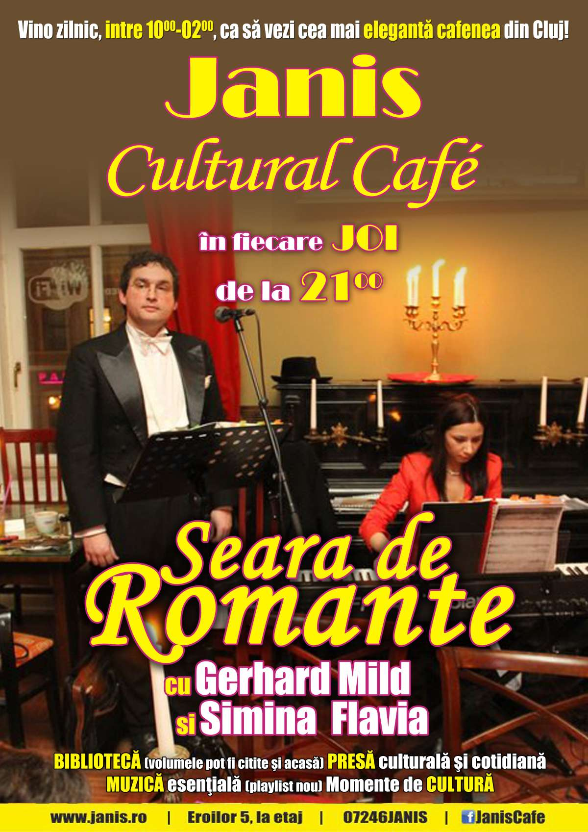 Seara de romante @ Janis Cafe