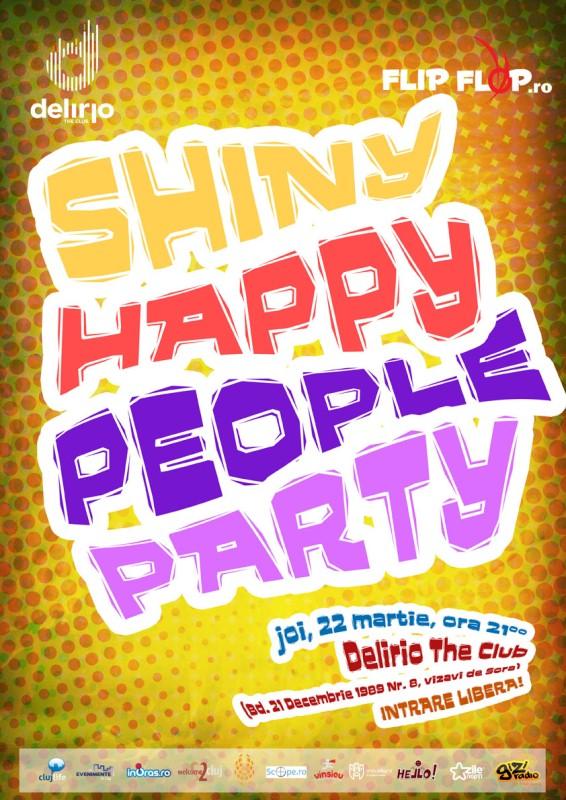 Shiny Happy People Party @ Club Delirio