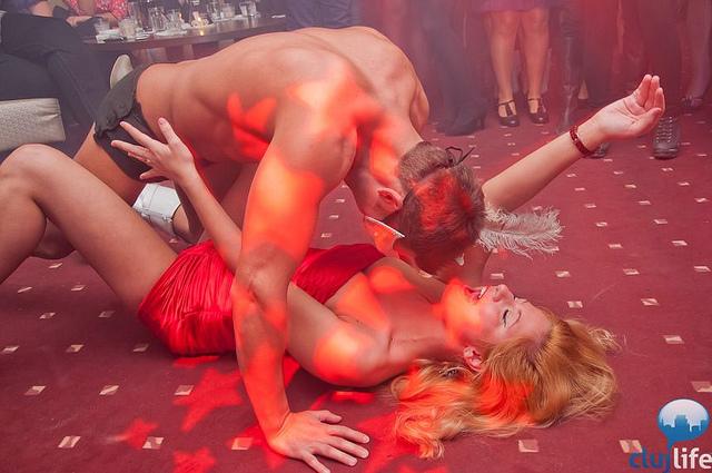 Poze: Strip Party @ Exquizia Caffee