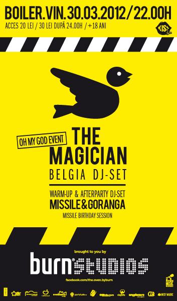 The Magician @ Boiler Club