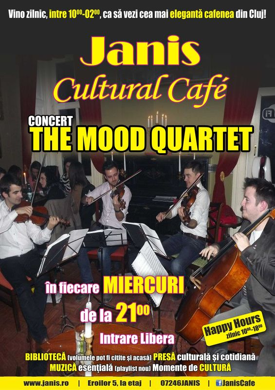 The Mood Quartet @ Janis Cafe
