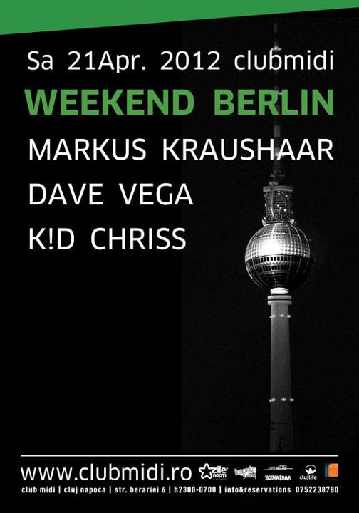 Weekend Berlin Night @ Club Midi