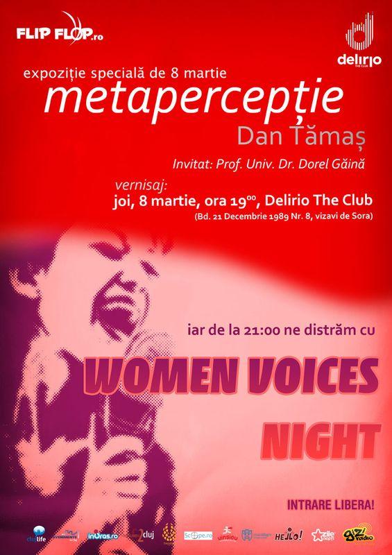 Women's Voice Night @ Club Delirio