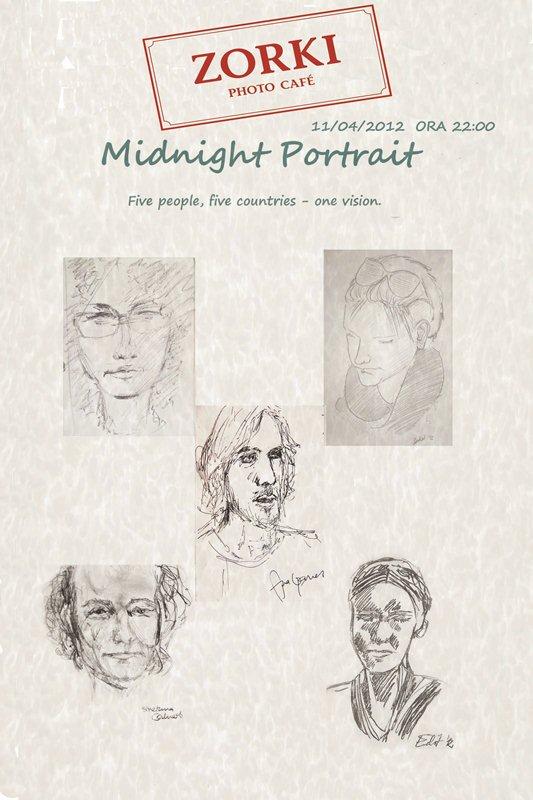 Midnight Portrait @ Zorki Photo Cafe