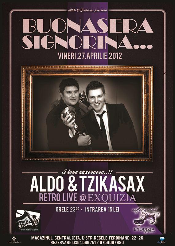 Aldo & Tzikasax @ Exquizia Caffe & Club