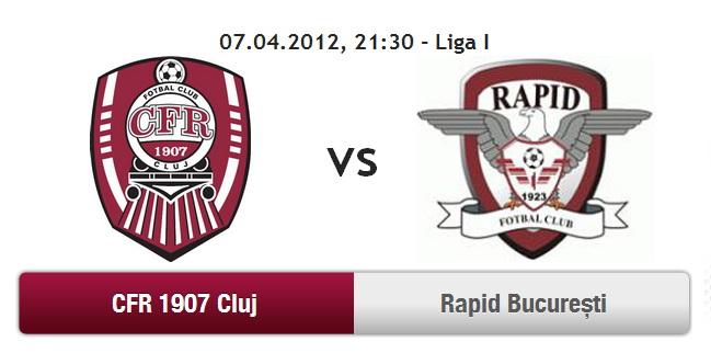 CFR Cluj – Rapid Bucuresti