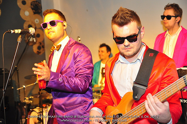 Poze: David & Six Martini Band @ Euphoria Music Hall