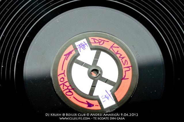 Poze: DJ Krush @ Boiler Club