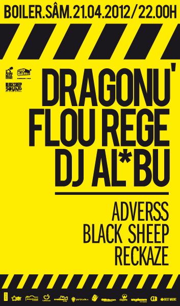 Dragonu' / Flou Rege / DJ Al*bu @ Boiler Club
