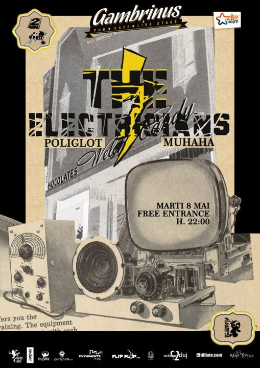 The Electricians #3 @ Gambrinus Pub