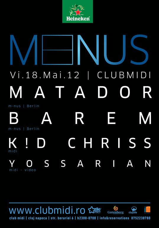Matador / Barem @ Club Midi