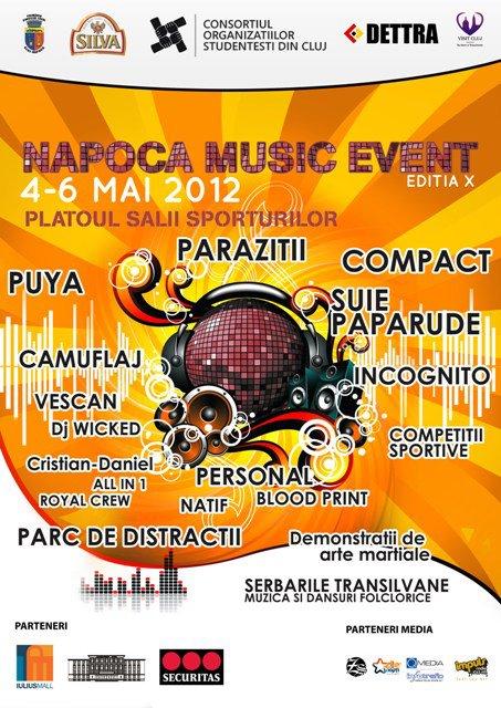 Napoca Music Event 2012