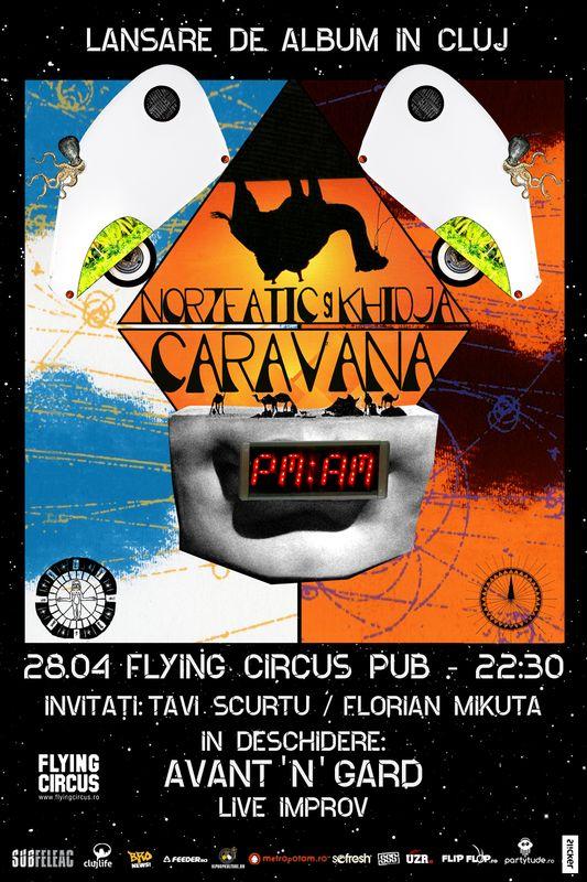 Norzeatic & Khidja @ Flying Circus Pub