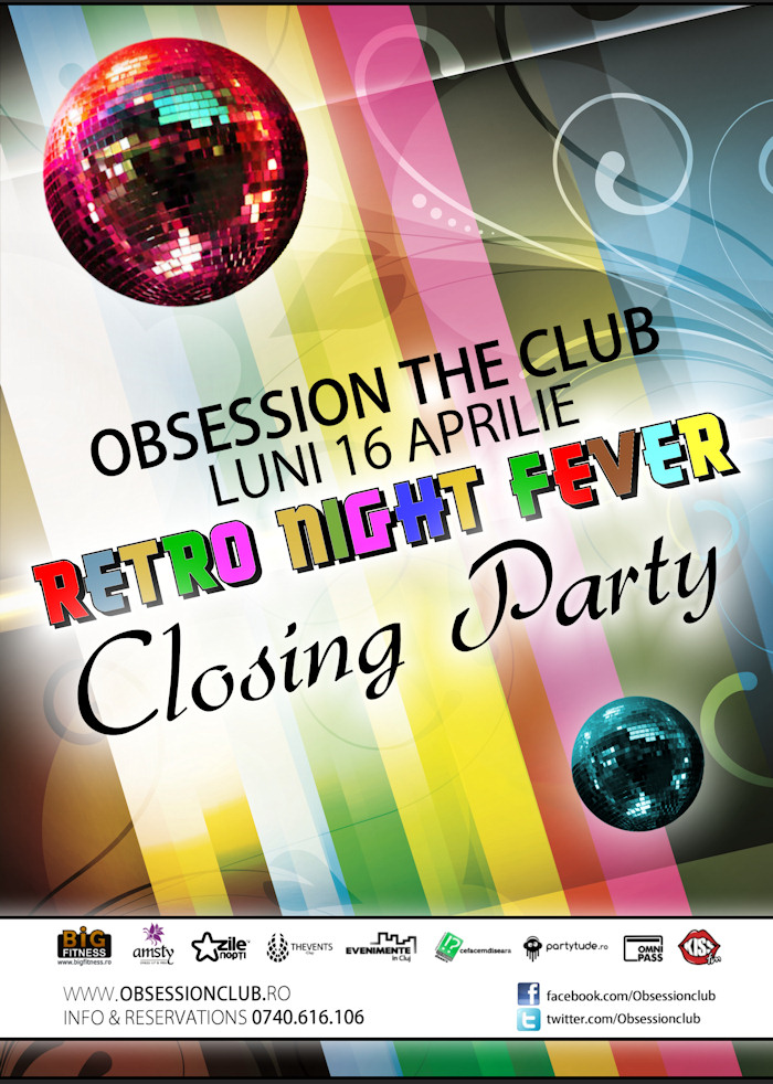 Retro Night Fever – Closing Party