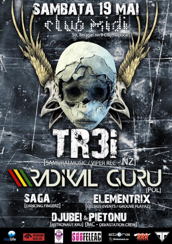 TREi & Radikal Guru @ Club Midi