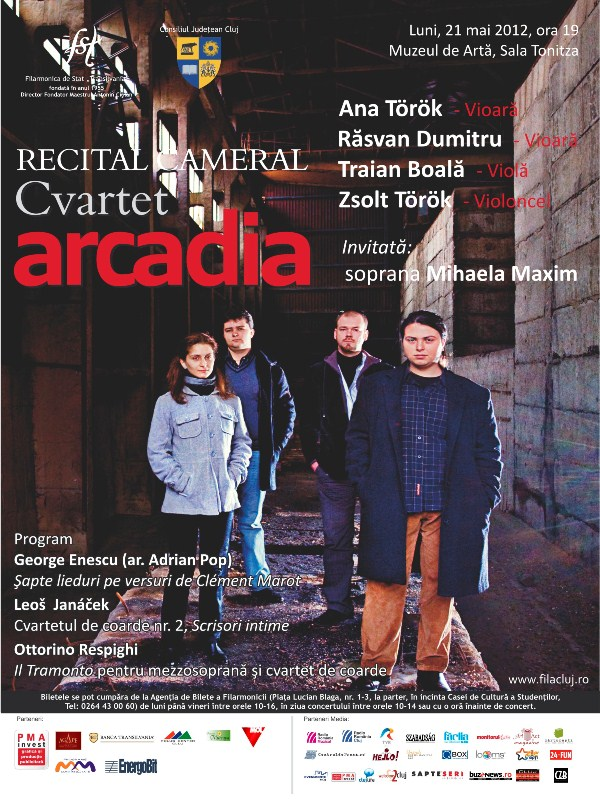 Cvartetul Arcadia @ Muzeul de Arta