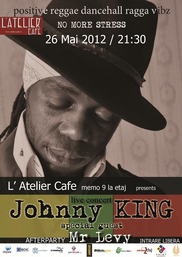 Johhny King @ L'Atelier Cafe