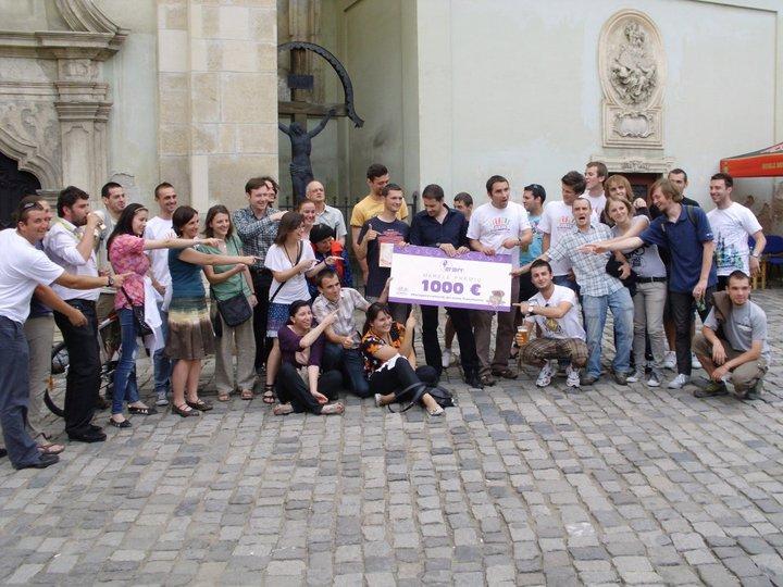 1000 de euro premiu cel mare la concursul de Treasure Hunt