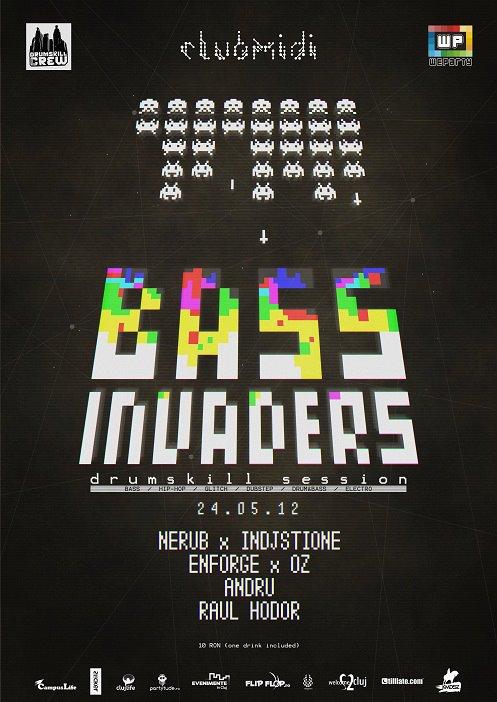 Bass Invaders @ Club Midi
