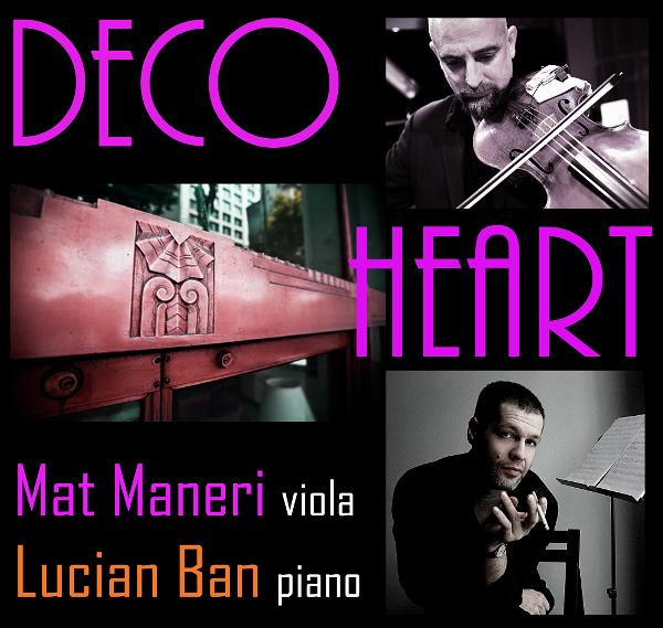 Lucian Ban & Mat Maneri @ Teatrul Maghiar