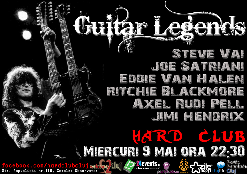 Guitar Legends Night @ Hard Club