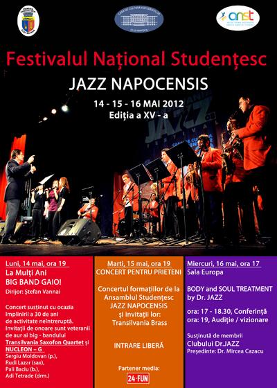 Festivalul Jazz Napocensis 2012