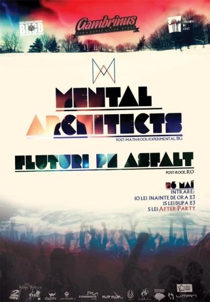 Mental Architects @ Gambrinus Pub