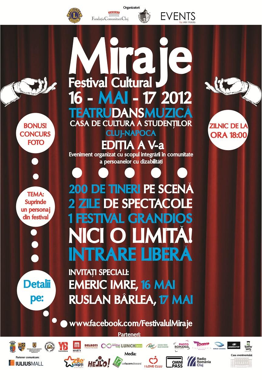 """Festivalul Cultural """"Miraje"""" 2012"""