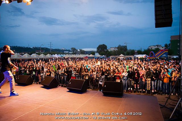 Poze: Napoca Music Event 2012 – ziua #1