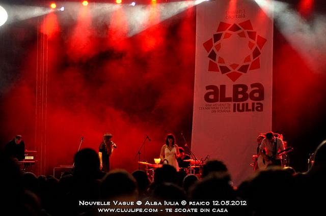 Poze: Nouvelle Vague @ Alba Iulia (Piata Cetatii)