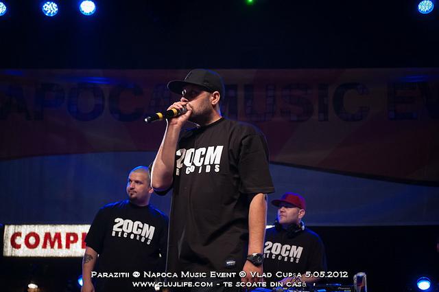 Poze: Parazitii @ Napoca Music Event 2012