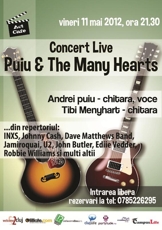 Puiu & The Many Hearts @ Act Cafe