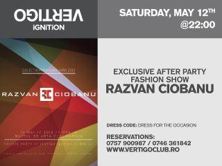 Exclusive After Party Fashion Show by Razvan Ciobanu