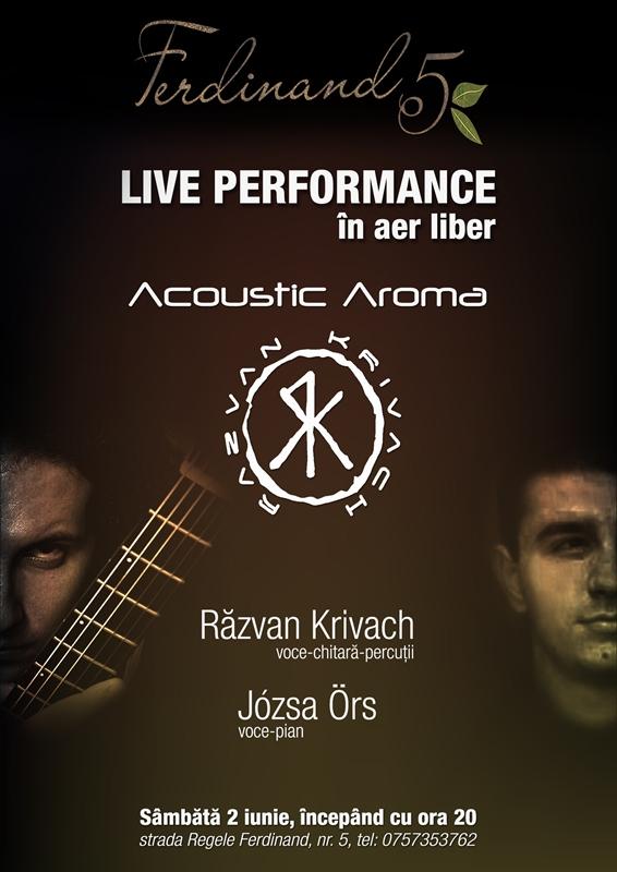 Acoustic Aroma @ Ferdinand 5
