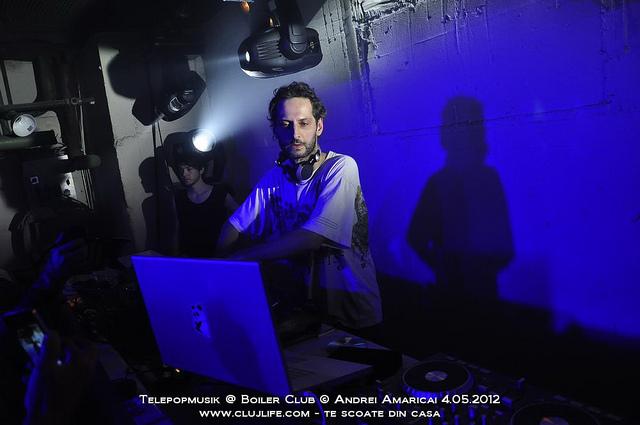 Poze: Telepopmusik @ Boiler Club