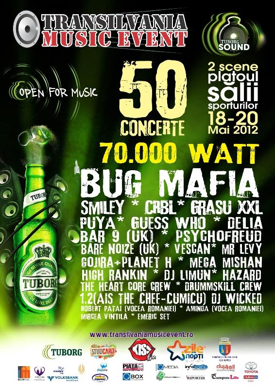 Transilvania Music Event 2012